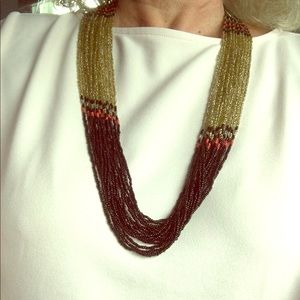 "Accessories - 32"" beaded necklace"